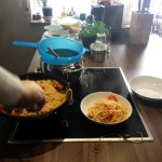 Spaghetti ai frutti di mare in bianco