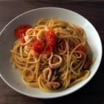 Spaghetti ai frutti di mare in bianco - Das Ergebnis