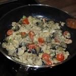Auberginen mit gebratenem Ei (13)