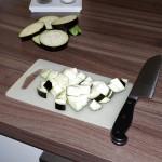Auberginen mit gebratenem Ei (2)