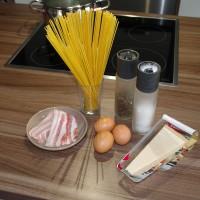 Spaghetti Carbonara - Unsere Zutaten