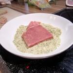Kalbsschnitzel in Pistazienpanade (2)