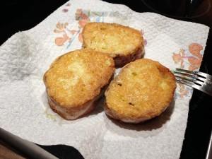 Pani frittu - gebratenes Brot (6)