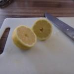 Hähnchenschegel mit Zitrone