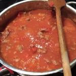 Canneloni mit Salsiccia - 1