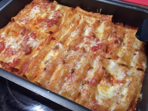 11 - Canneloni mit Salsiccia