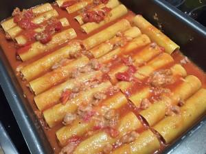 7 - Canneloni mit Salsiccia