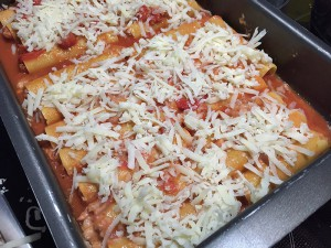 8 - Canneloni mit Salsiccia